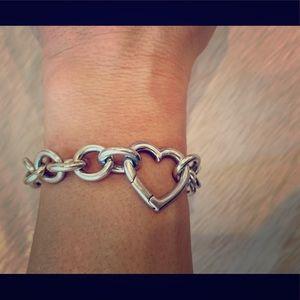 Tiffany & Co. Heart Chain Bracelet